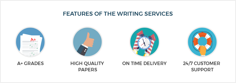 Features of the writing services